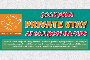 EXCLUSIVE PRIVATE CAMP STAY
