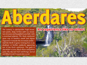 DISCOVER ABERDARES